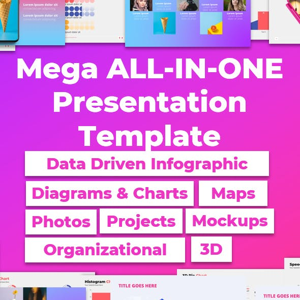 Mega ALL-IN-ONE PowerPoint Presentation Template