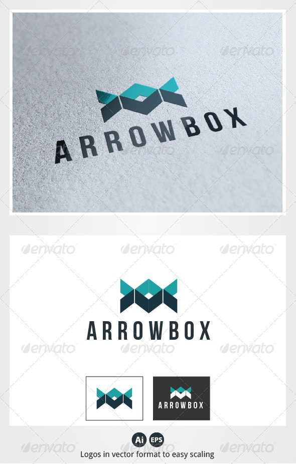 Arrow Box Logo - Abstract Logo Templates