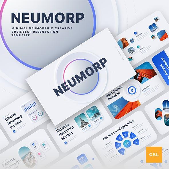 Neumorph - Neumorphic Corporate Business Google Slides Presentation Template