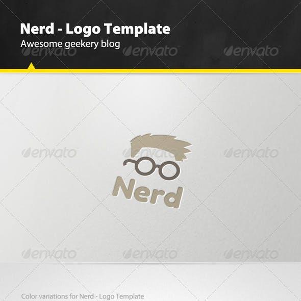 Nerd - Logo Template