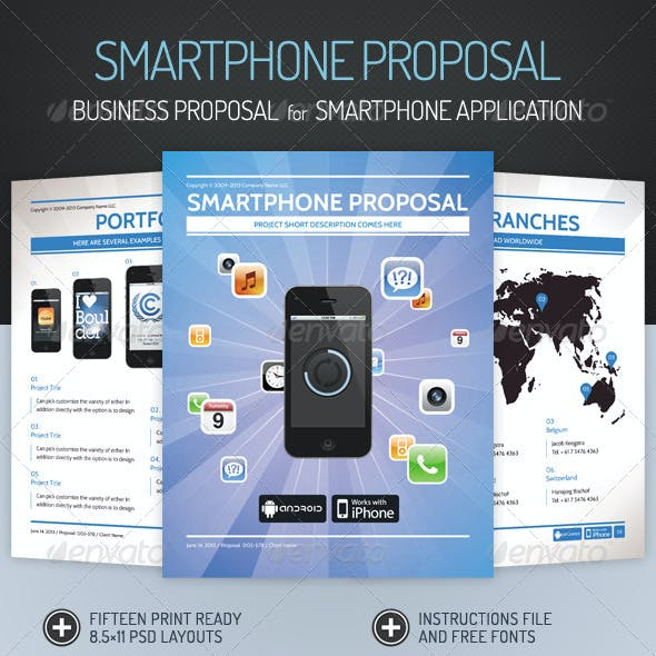 Business Proposal for Smartphone Application