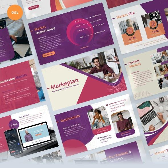 Marketing Strategy Slides Presentation Template