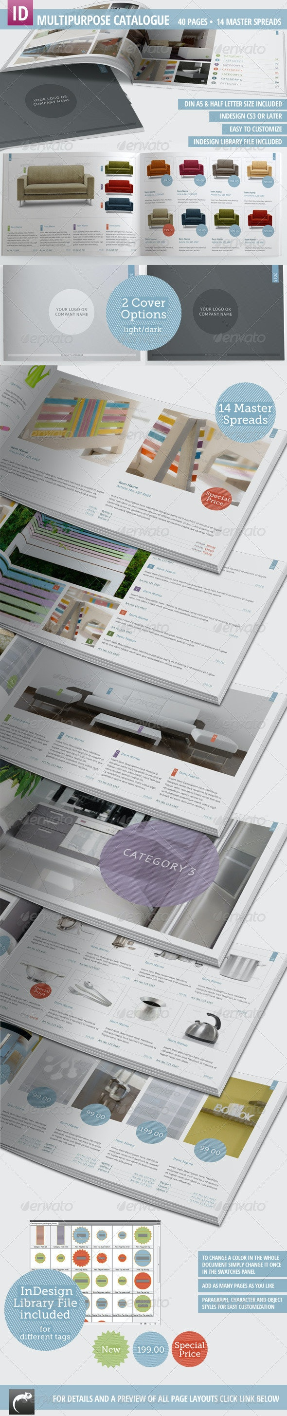 Multipurpose Product Catalogue - 40 Pages - Catalogs Brochures