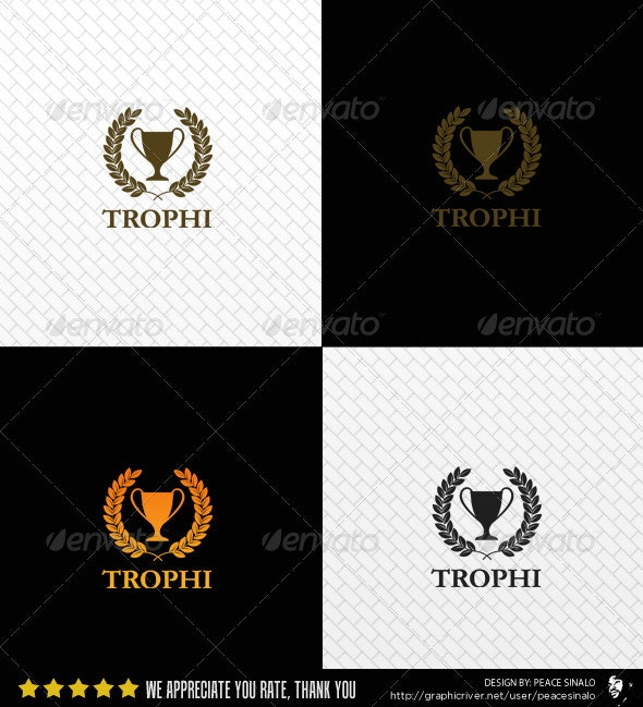 Trophi Logo Template - Objects Logo Templates