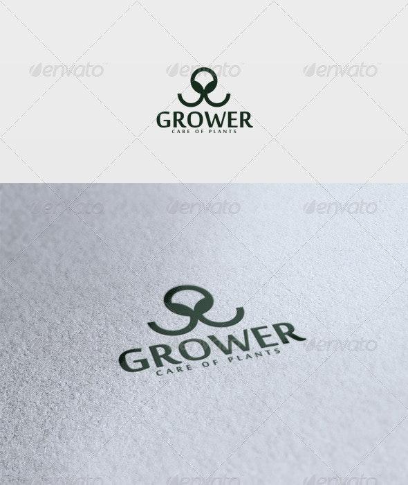 Grower Logo - Vector Abstract