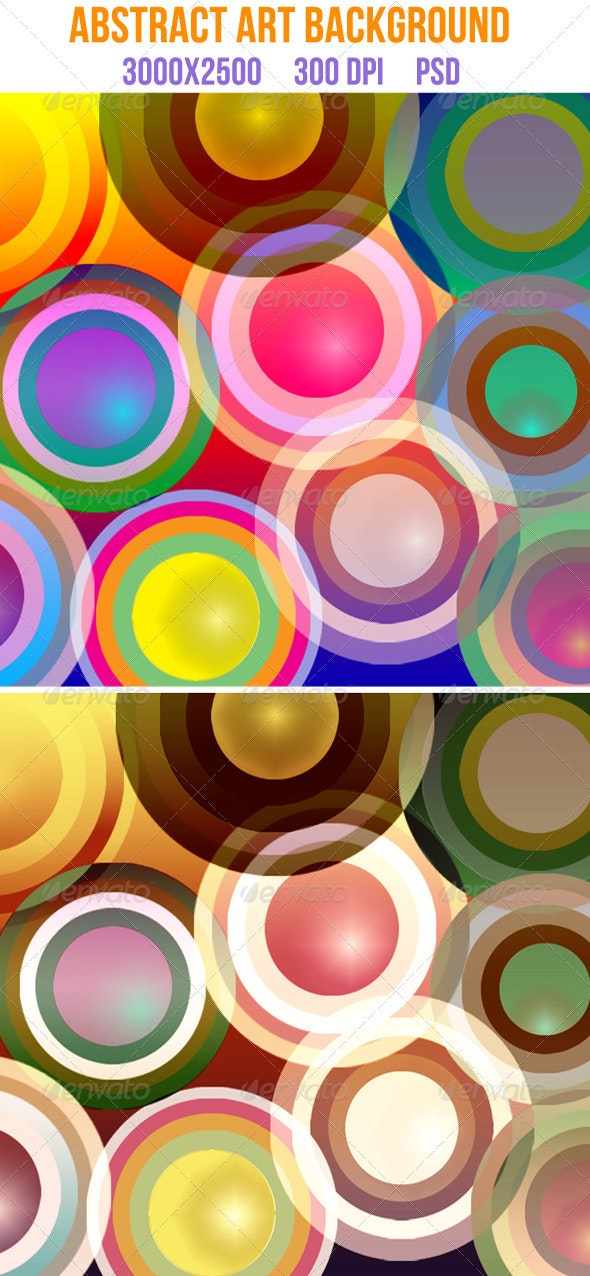 Abstract Art Background - Backgrounds Graphics