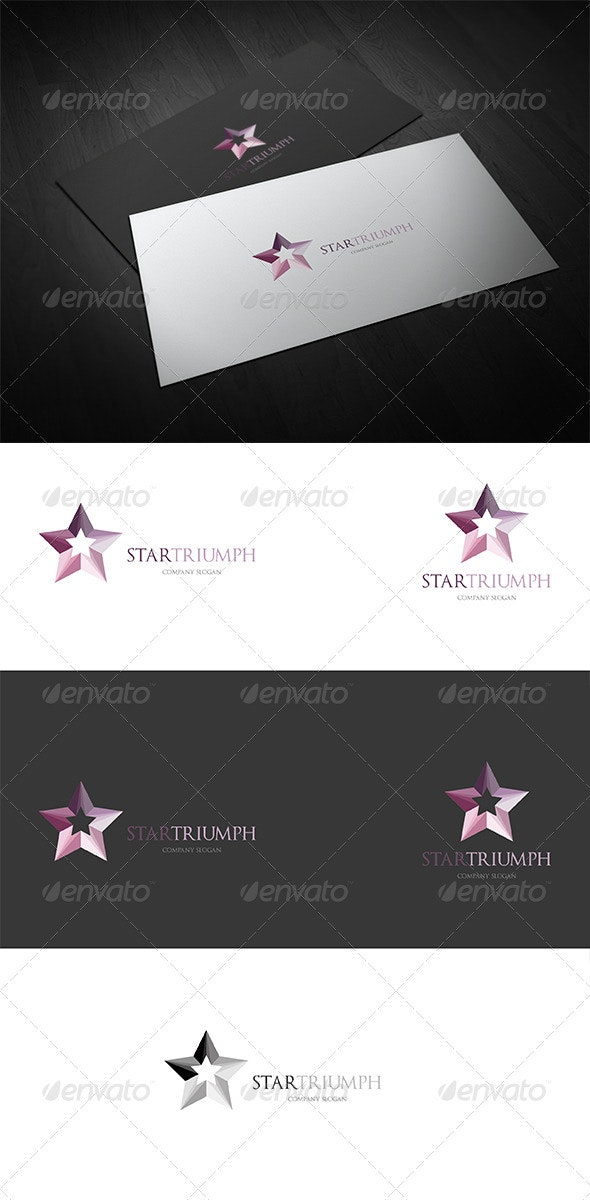 StarTriumph Logo - Symbols Logo Templates