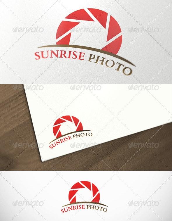 Sunrise Photography Premium Logo Template - Objects Logo Templates