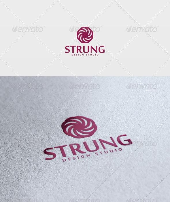 Strung Logo - Vector Abstract