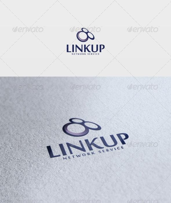 Linkup Logo - Vector Abstract