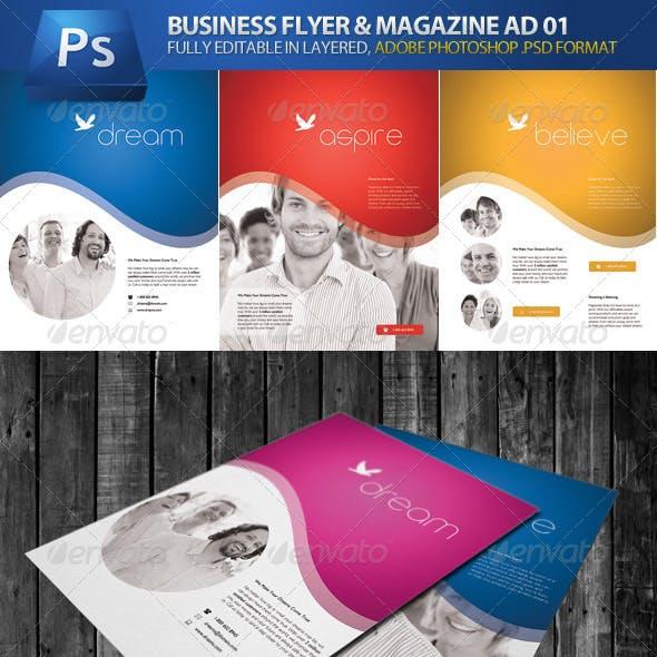 Business Flyer & Magazine Ad 01