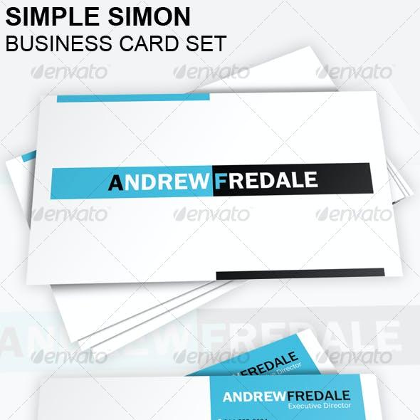 Simple Simon Business Card