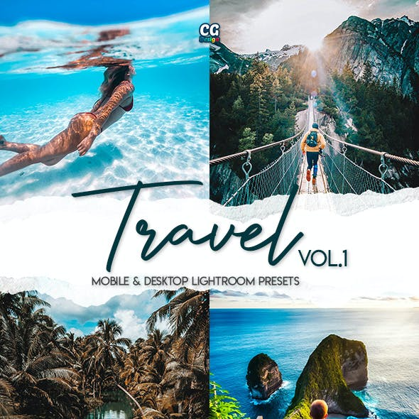 Travel Lightroom Presets Vol. 1 - 15 Premium Lightroom Presets