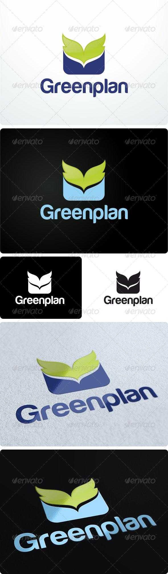 Greenplan Environmental Logo Design - Symbols Logo Templates