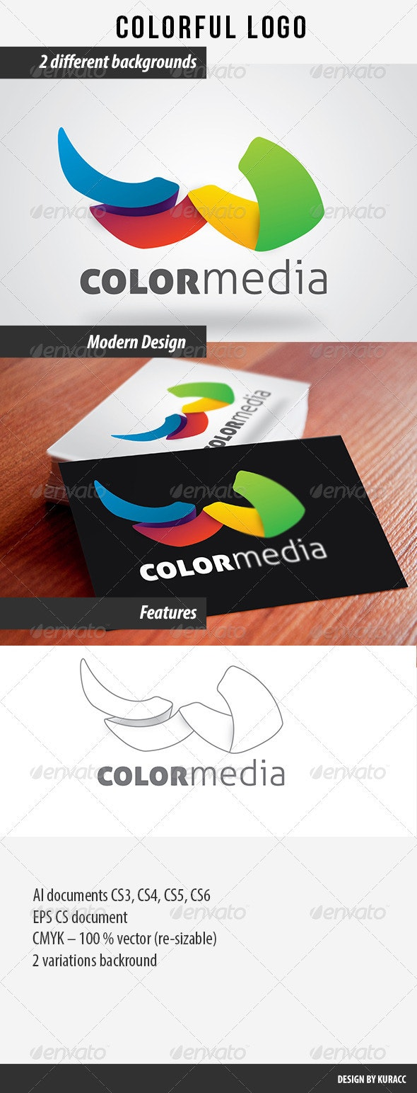 Colorful Logo  - Abstract Logo Templates