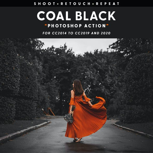 COAL BLACK - Photoshop Action