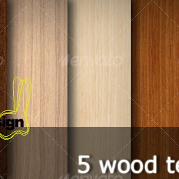 5 Wood Textures