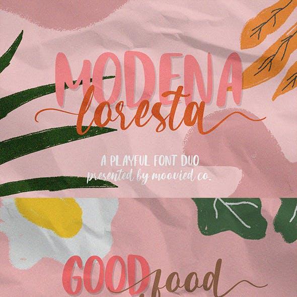 Modena Loresta Font Duo