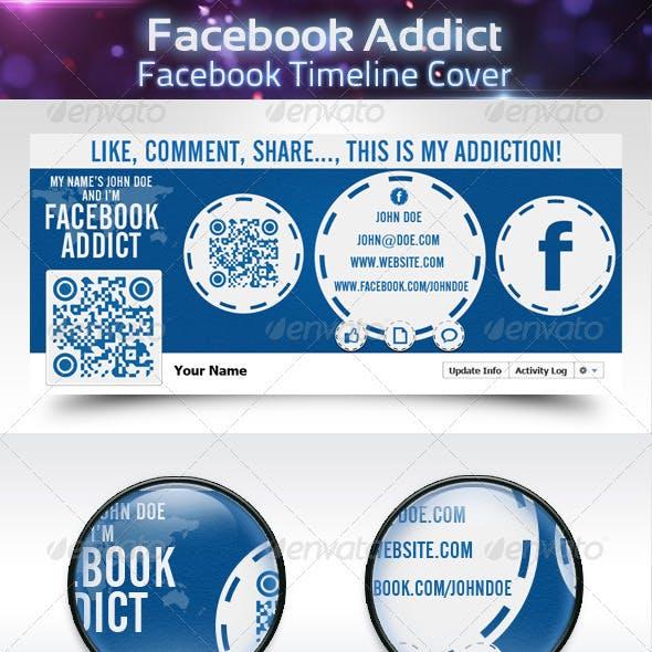 Facebook Addict - Facebook Timeline Cover