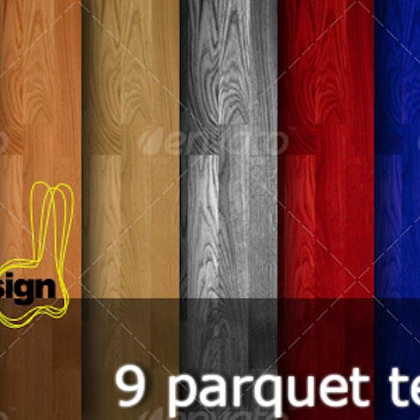 9 Wooden Parquet Textures