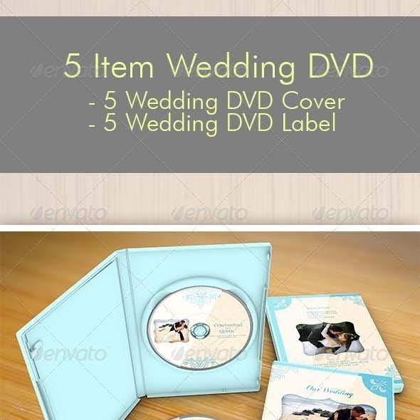 5 Item Wedding DVD