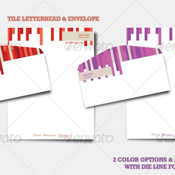 Tile Letterhead & Envelope