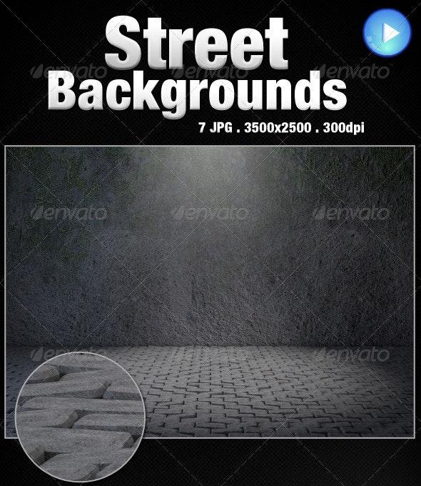 Street Backgrounds - 3D Backgrounds