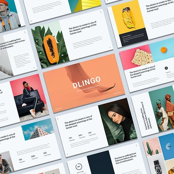 Dlingo - Creative & Minimal Google Slide Presentation Template