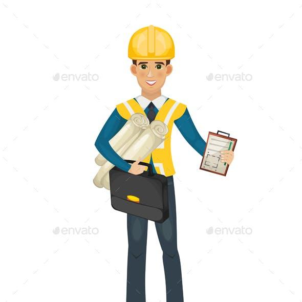Civil Engineer Character