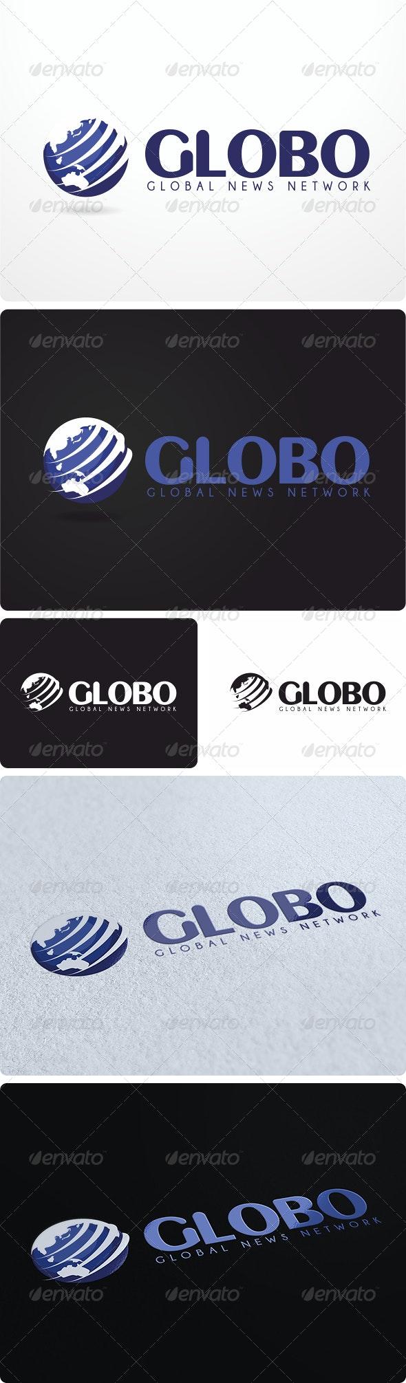 Globo News Logo Design - Symbols Logo Templates