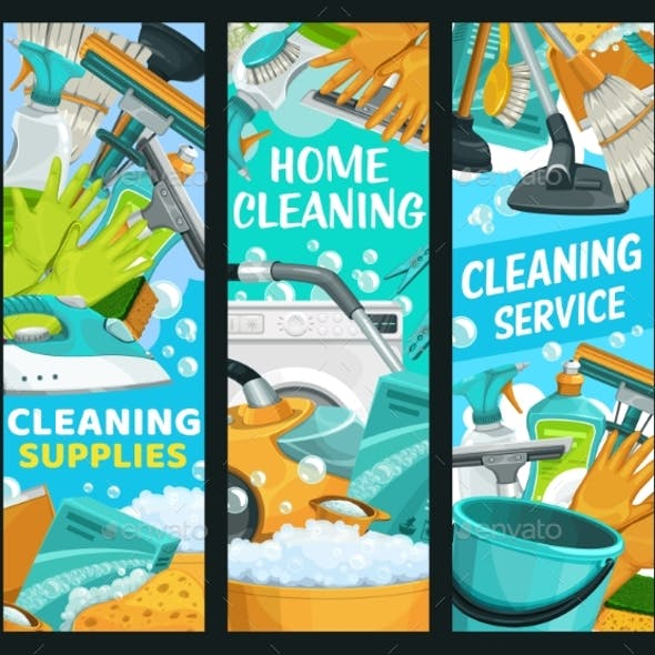 House Cleaning Service Home Cleaners Supplies