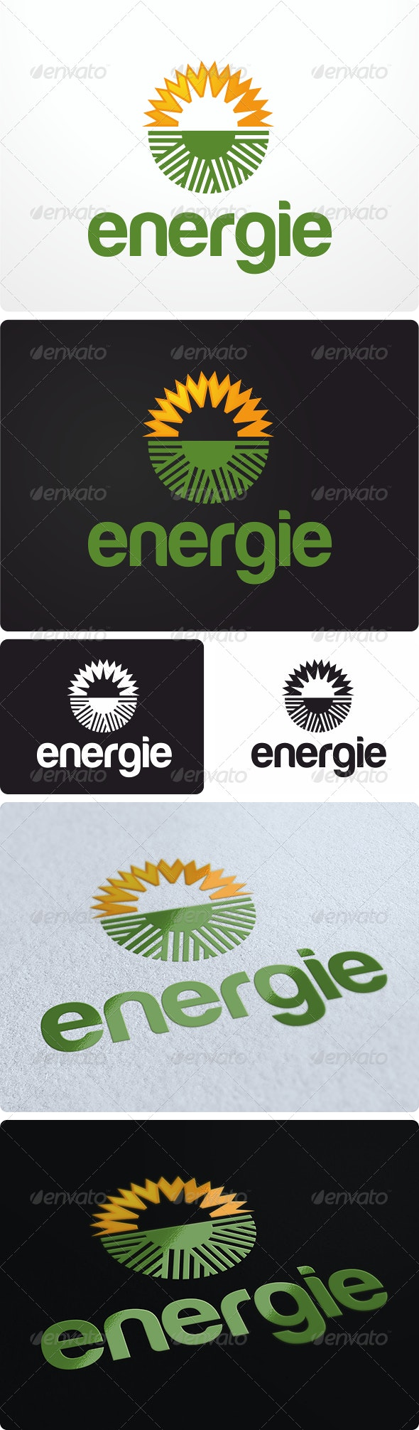 Clean Energy Logo Design - Nature Logo Templates