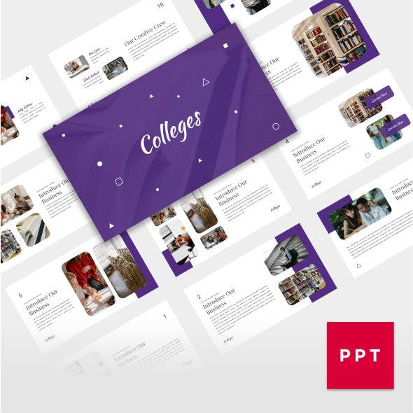 Educations - Friendly Educational PowerPoint Template