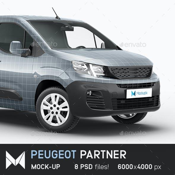 Peugeot Partner 2020 Mockup