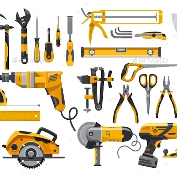 Work Tools Construction and Repair Instruments