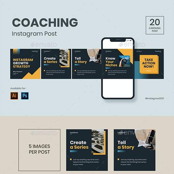 InstaGrow - Coaching Instagram Post