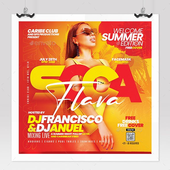 Urban Summer Party Flyer