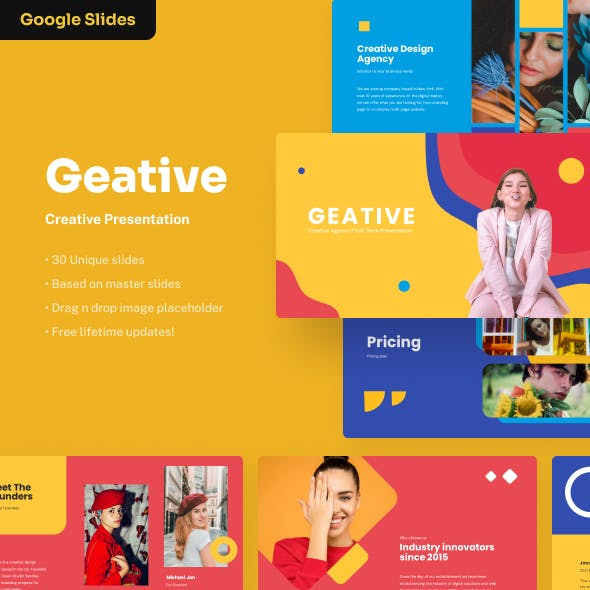 Geative - Creative Google Slides Presentation