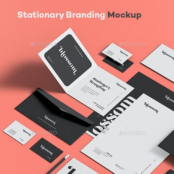 Stationary Branding Mock-up 9
