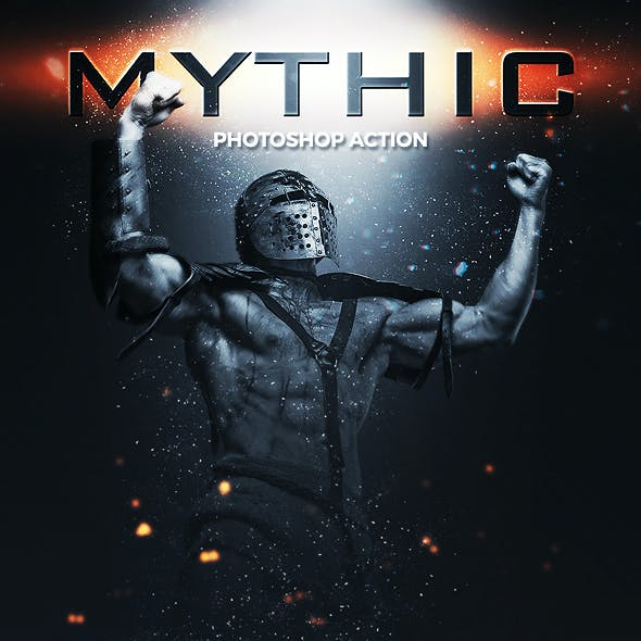 Mythic Photoshop Action