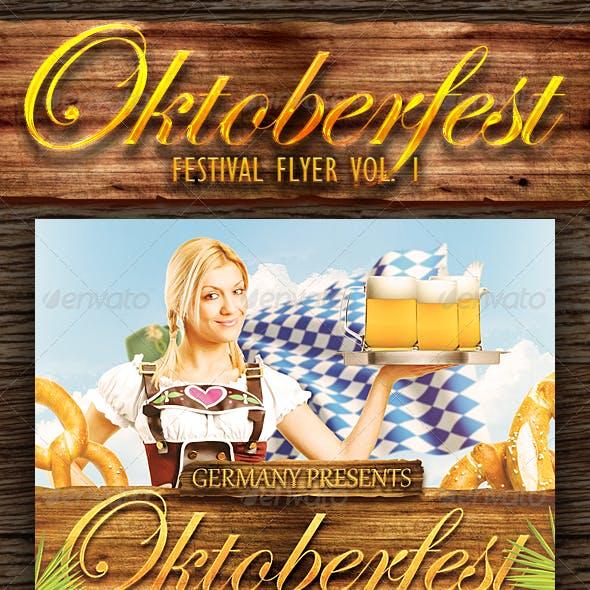 Oktoberfest Festival Flyer Vol. 1