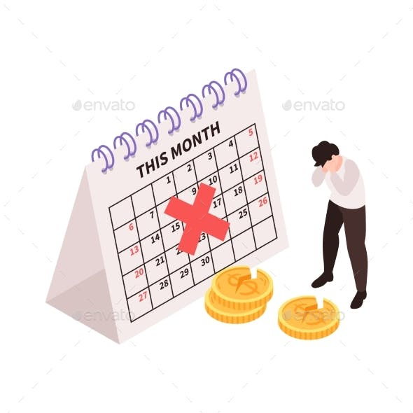 Negative Income Month Composition