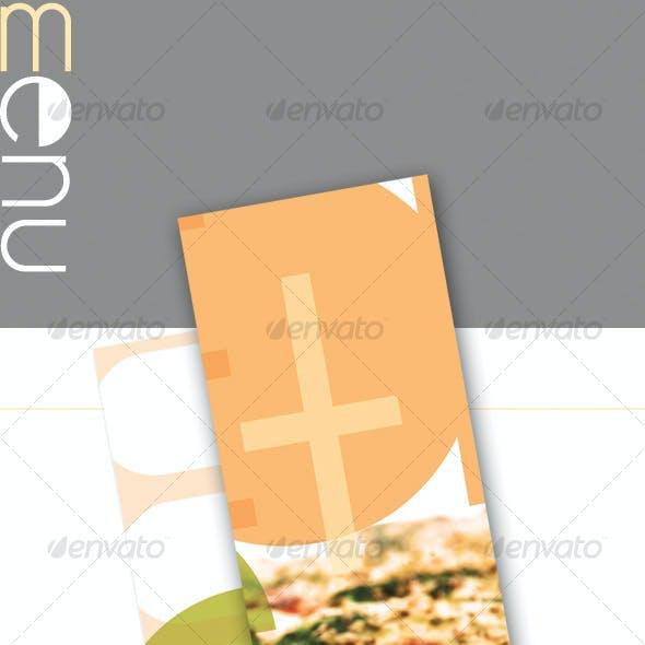 Light Restaurant Menu