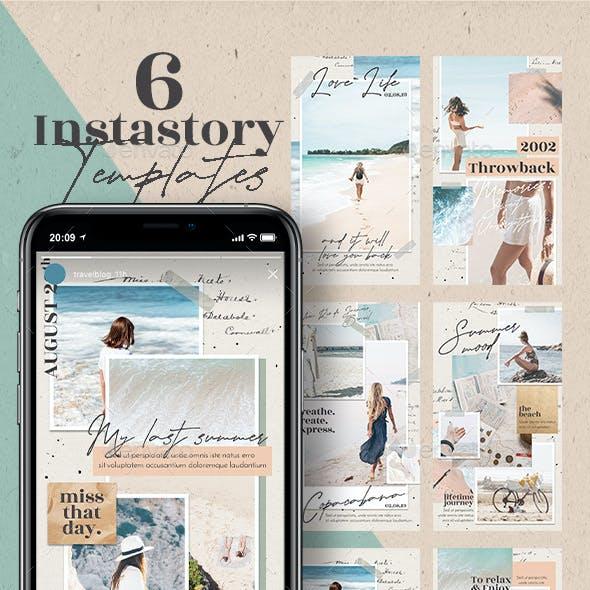 Travel Blog Instagram Stories