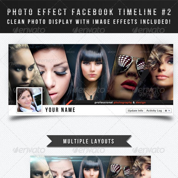 Photo Effect Facebook Timeline Cover #2