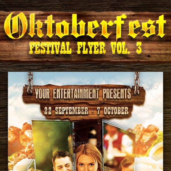 Oktoberfest Festival Flyer Vol. 3
