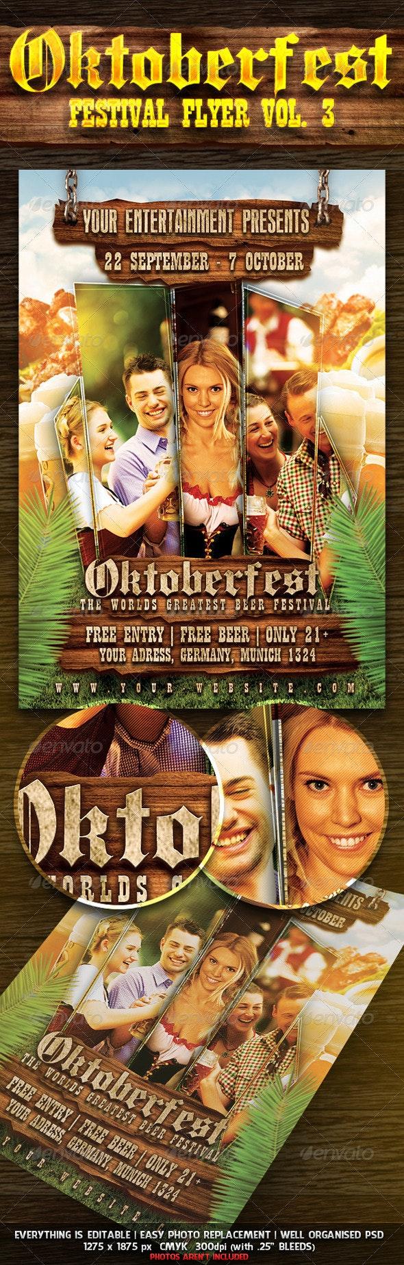 Oktoberfest Festival Flyer Vol. 3 - Miscellaneous Events