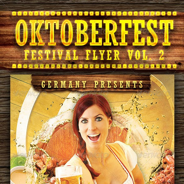 Oktoberfest Festival Flyer Vol. 2