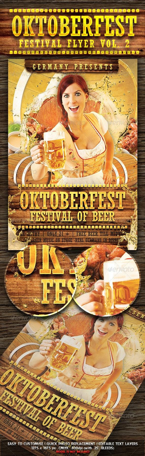 Oktoberfest Festival Flyer Vol. 2 - Miscellaneous Events