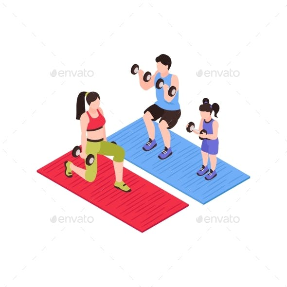 Family Weight Sport Composition